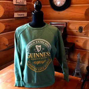 Guinness Sweat Shirt Medium